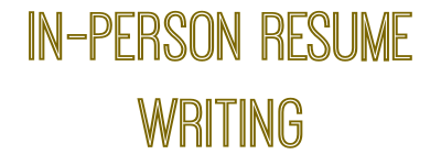 Houston In Person Resume Writing